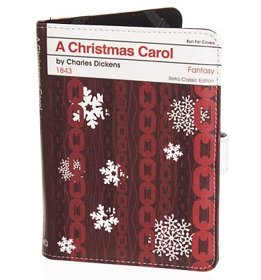 A Christmas Carol By Charles Dickens E-Reader Cover For Kindle Touch from Run For Covers