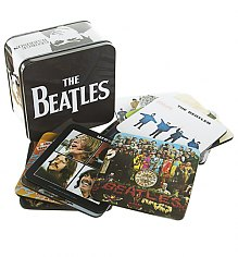 Beatles Collectors Set Of 13 Coasters In A Tin [View details]