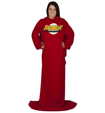 Big Bang Theory BAZINGA Fleece Snuggler