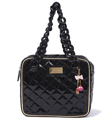 Black Barbie Baguette Bag from Clippy London