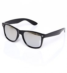 Black Mirror Lens Wayfarer Sunglasses [View details]