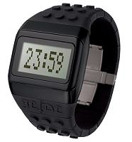 Black Pop Hours JC/DC Retro Watch from ODM