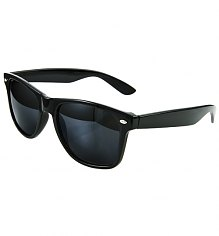 Black Wayfarer Sunglasses [View details]