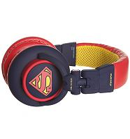Blue DC Comics Superman DJ Headphones