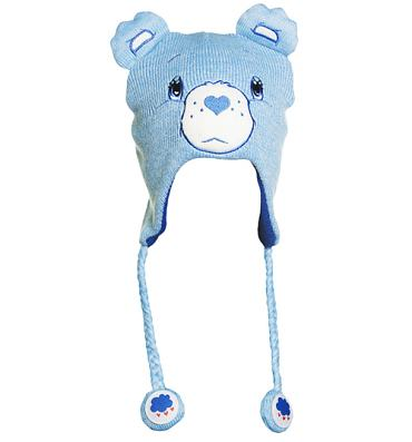 Blue Grumpy Bear Care Bears Laplander Hat