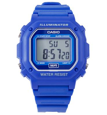 Blue Retro Illuminator Watch from Casio