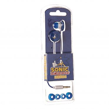 Blue Sonic The Hedgehog Earphones