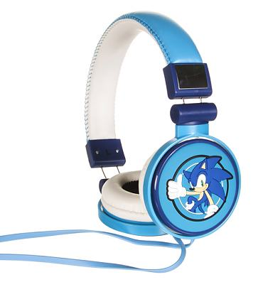 Blue Sonic The Hedgehog Headphones