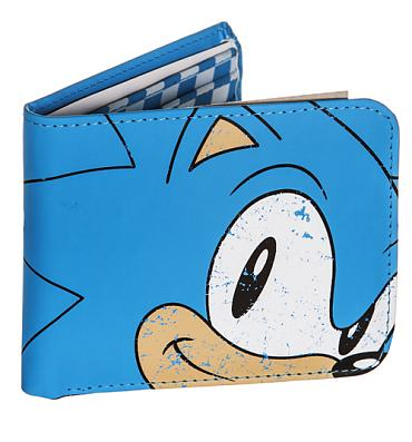 Blue Sonic The Hedgehog PU Wallet