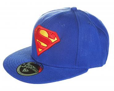 Blue Superman Logo Baseball Cap