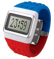 Blue White And Red Pop Hours JC/DC Retro Watch from ODM