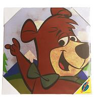Boo Boo Yogi Bear 30x30 Canvas Art Print