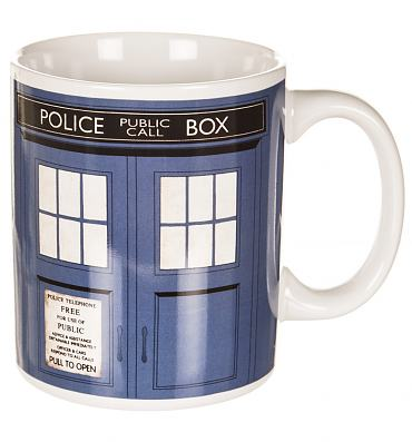 Boxed Doctor Who Tardis Mug