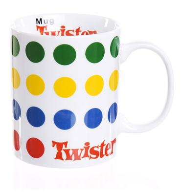 Boxed Porcelain Twister Mug