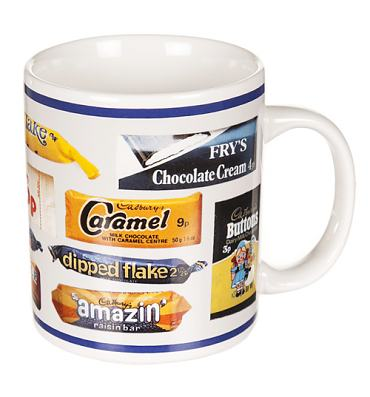 Boxed Retro Cadburys Chocolate Bar Wrapper Mug