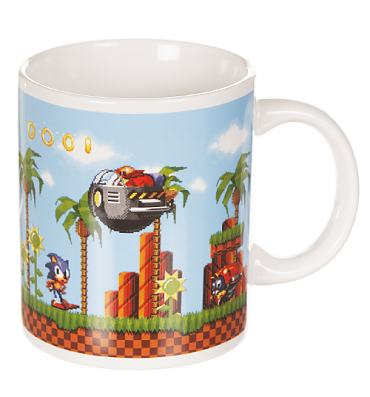 Boxed Sonic The Hedgehog Scene Mug