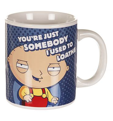 Boxed Stewie Used To Loathe Family Guy Mug