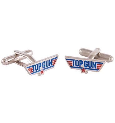 Boxed Top Gun Logo Cufflinks