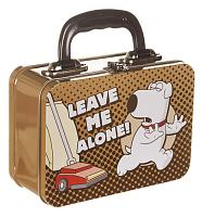 Brian Leave Me Alone Family Guy Tin Tote