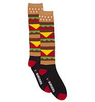 Burger Knee Socks from Loungefly