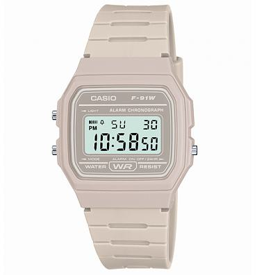 Casio Classic Light Grey Watch