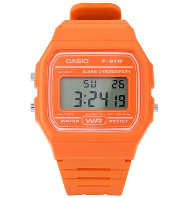 Casio Classic Orange Watch