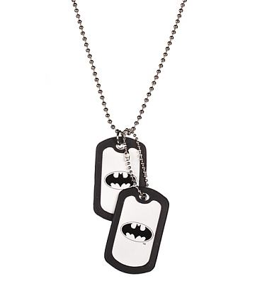 Classic Batman Logo Dog Tags