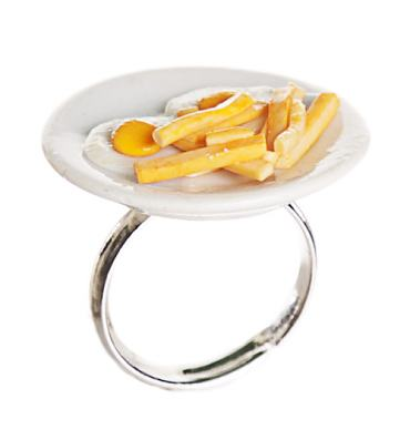 Classic British Dish Egg And Chips Ring from ShmooBamboo