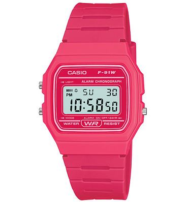 Classic Hot Pink Watch from Casio