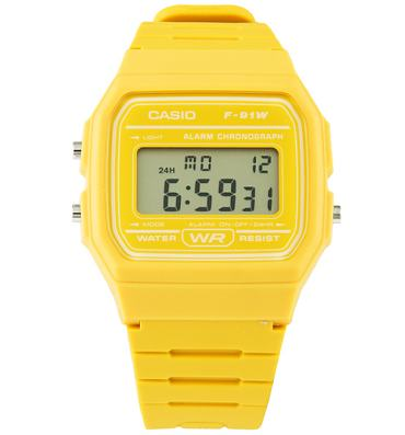 Classic Mustard Yellow Watch from Casio