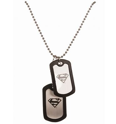 Classic Superman Logo Dog Tags