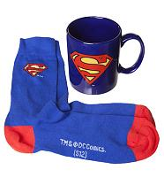 DC Comics Superman Mug And Socks Gift Set