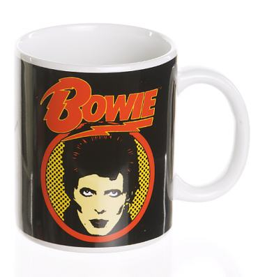 David Bowie Flash Logo Boxed Mug