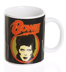 David Bowie Flash Logo Boxed Mug [View details]