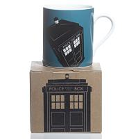 Doctor Who Blue Tardis Design Boxed Mug from BBC Worldwided