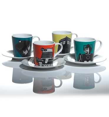 Doctor Who Boxed Espresso Set from BBC Worldwide