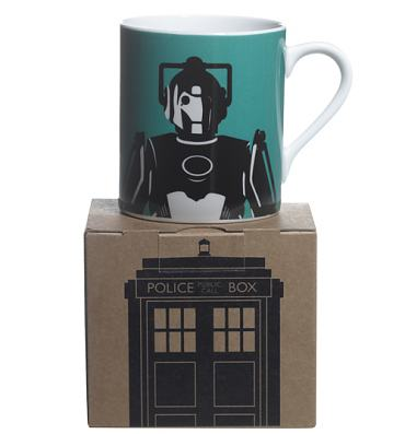 Doctor Who Cyberman Design Boxed Mug from BBC Worldwide