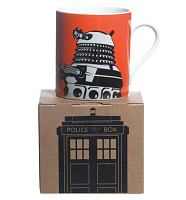 Doctor Who Orange Dalek Design Boxed  Mug from BBC Worldwide