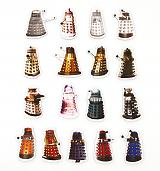 Doctor Who Daleks Magnet Set