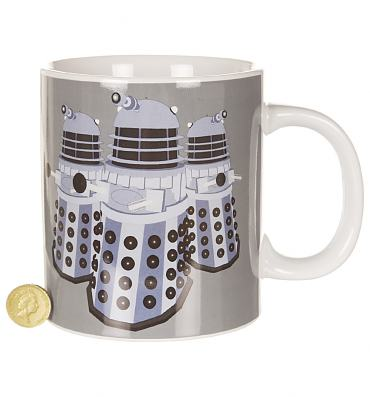 Doctor Who GIANT Daleks Exterminate Mug