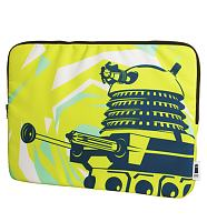 Doctor Who Dalek Design Padded 15&quot; Laptop Case from BBC Worldwide