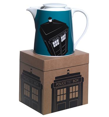 Doctor Who Tardis Design Boxed Teapot from BBC Worldwide