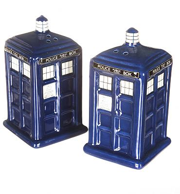 Doctor Who Tardis Salt And Pepper Shakers