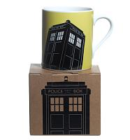 Doctor Who Yellow Tardis Design Mug from BBC Worldwide