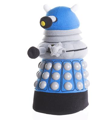 Doctor Who Blue Dalek Plush Toy