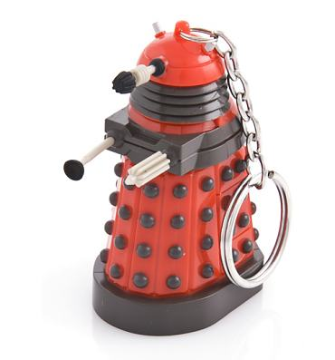 Doctor Who Dalek Keychain Torch