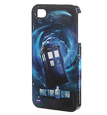 Doctor Who Tardis iPhone 4 Cover