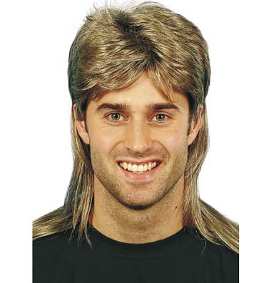Eighties Jason Mullet Wig