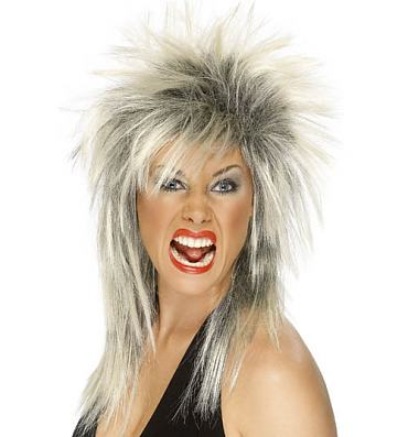 Eighties Rock Diva Wig