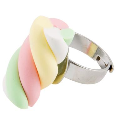 Flump Ring from Bits and Bows